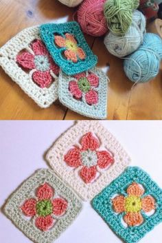 [Free Pattern] There's Something That Makes These Flower Granny Really Special
