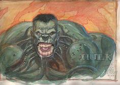 The Hulk by Leinil Yu