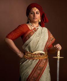 Katie Holm, women warriors. Lakhsmi Bai
