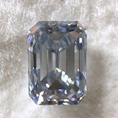 .50 carat, GIA certified Natural Fancy Intense Blue, Emerald Rectengular Modified Brilliant shape and cut Diamond with an VS1 clarity. A beautiful Natural Fancy Intense Blue Diamond that will look stunning when set. This loose diamond has an amazing color. Let one of our Diamond Specialists help you.