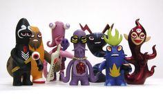 Monsterism volume 1 toys | Flickr - Photo Sharing!