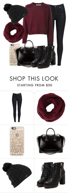 """""""Untitled #1215"""" by thebabybuu on Polyvore featuring BCBGMAXAZRIA, Casetify, Givenchy and Burton"""
