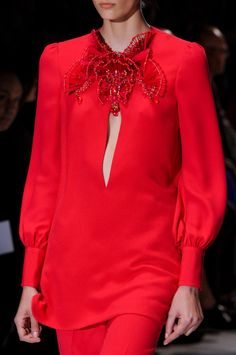 Gucci at Milan Fashion Week Spring 2013 - StyleBistro