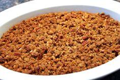 Sweet Potato Casserole | Thanksgiving Side Dish