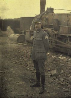 Soldiers - World War One Color Photos