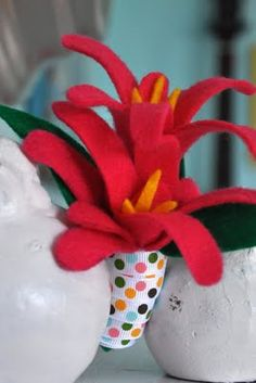 Felt Handprint Mother's Day Corsage
