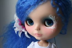 A Fancy Makeover for your Blythe girl by obviouszebra on Etsy, $100.00.