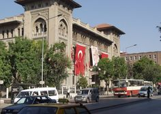 PRETTY.  Various tourist hotspots present themselves around the city of Ankara and in particular, along the Ataturk Bulvari, which serves as a prominent artery.