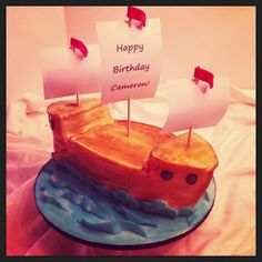 Pirate Ship Birthday cake :)