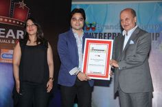Harshad B. Dhirubhai Ambani, Ratan Tata, Excellence Award, Entrepreneurship, Awards