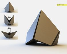 Diamond Jewerly packaging on Behance