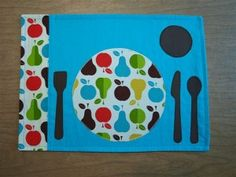 Montessori Kids Kitchen: Placemat with Place Setting by lilorfan Montessori Classroom, Montessori Toddler, Montessori Activities, Toddler Activities, Learning Activities, Montessori Homeschool, Opening A Daycare, Toddler Class, Toddler Fun