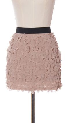 Petal Skirt. Totally got one in black. Not sorry.