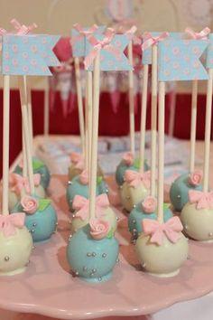 Violeta Glace: Cakepops