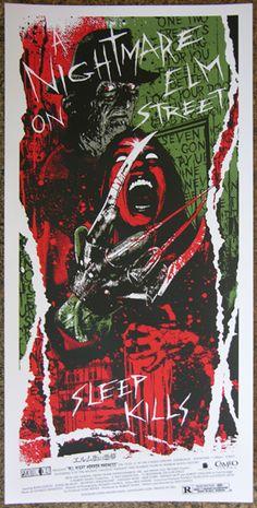 A Nightmare On Elm Street – Art Print By James Rheem Davis