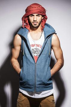 Omar Borkan Al Gala. Iraqi model lives in Sharjah city, UAE