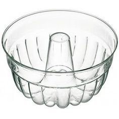 Glass BundtPan- cadmium and lead free