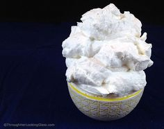 Sweet (Stabilized) Stiff Whipped Cream