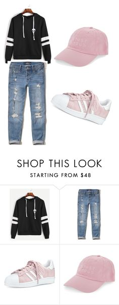 """""""Untitled #49"""" by amela-besic ❤ liked on Polyvore featuring Hollister Co., adidas and Nasaseasons"""
