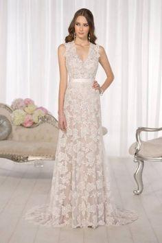 Imagenes de vestidos de novia con encaje