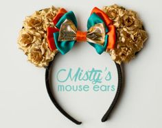 Magic Mouse Ears Merida Brave by MakesYouSmile101 on Etsy