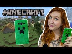 Vem ver como fazer capinha para celular do Creeper do Minecraft usando beads, que vai dar um efeito pixelado muito legal! Site: http://www.brunnaschnorr.com....