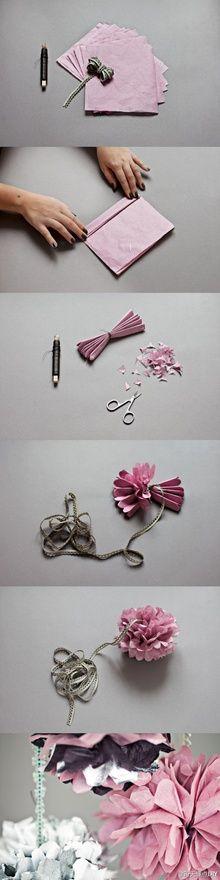flores de papel:)