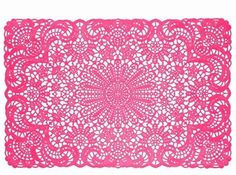 I have 4 of these placemats. They are bright and whimsical. I thought we might be able to use them for the cake table!