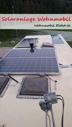 """Strom im Wohnmobil ist wichtig, vor allem wenn man so wie ich fast nur """"frei"""" steht. Mit meiner Wohnmobil Solaranlage bin ich zu 98% Autark - das ganze Jahr!"""