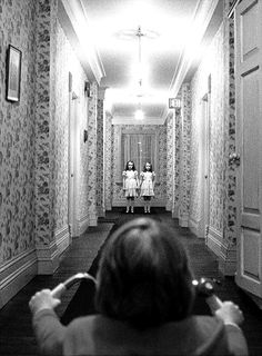 The Shining (1980). A family heads to an isolated hotel for the winter where an evil and spiritual presence influences the father into violence, while his psychic son sees horrific forebodings from the past and of the future.