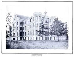 the original St. Elizabeth's Hospital on 13th and South St. Lincoln, NE. built in 1907