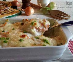 Lasagna zucchine e salmone