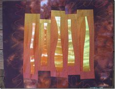 Frieda Anderson - Hand dyed fabric, Quilt Artist, Teacher   Small stretcher frames