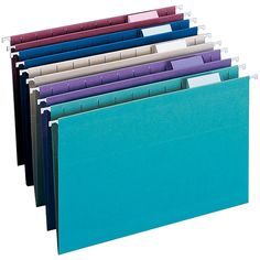 Smead® Color Hanging Folders, Legal Size, Assorted Colors, Box Of 25
