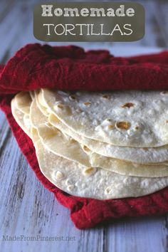 Homemade Tortillas - VCR's are to DVD players what store bought tortillas are to Homemade Tortillas. Once you try homemade, you will never want to go back.