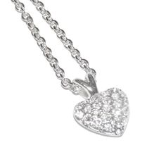 Double Drop Heart Necklace