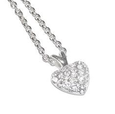 Double Drop Heart Necklace