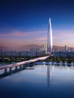 In Progress: Lotte World Tower / KPF,image by dbox branding & creative for KPF