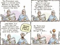 Sums up exactly how Obama is unfairly treated