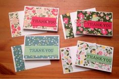 Thank You Cards - Let Your Hair Down (via Bloglovin.com )