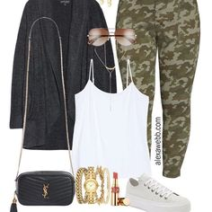 Photo shared by Plus Size Style by Alexa Webb on August 16, 2020 tagging @nordstrom, and @liketoknow.it.  #Regram via @www.instagram.com/p/CD8-_uApR78/ Camo Pants Outfit, Camo Outfits, Camo Jacket, My Outfit, Barefoot Dreams Cardigan, How To Wear Sneakers, Plus Size Fashion Blog, Casual Summer Dresses, Plus Size Outfits