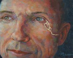 "Daily Paintworks - ""Stronger"" - Original Fine Art for Sale - © Rhea  Groepper Pettit"