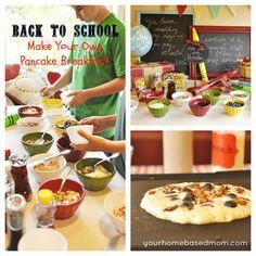 Back to School Breakfast 2012 – Make Your Own Pancakes @yourhomebasedmom.com #backtoschool