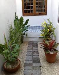 Resultado de imagem para jardins pequenos com pedriscos