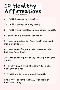 30 Bright Affirmations and Helpful Reminders For Positive Living Healthy Affirmations, Positive Affirmations Quotes, Self Love Affirmations, Morning Affirmations, Affirmation Quotes, Money Affirmations, Positive Living, Positive Mindset, Positive Vibes