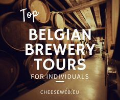 Top Belgian Brewery Tours for Individuals. Belgian beers are my favorite. A trip to Belgium to do that would be FANTASTIC.