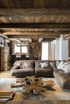 Detail of the livingroom ,Cà de Nani,Cortina d'Ampezzo
