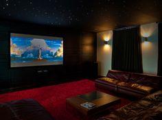 Media Room Design | 812 Star struck media room Home Design Photos
