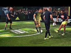 Zinedine Zidane & his Son vs F2 Freestylers - adidas The Base - YouTube