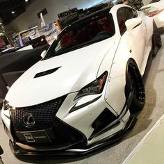 Repost via Instagram: Dope wide body #Lexus RCF! | @pancrossllc | check out @thegameofcars by carniverse